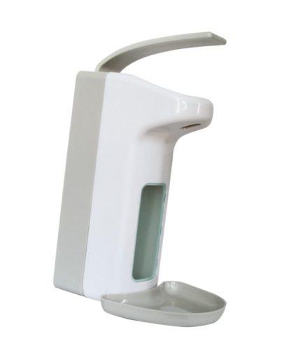Дозатор локтевой А-261 (С ЛОТКОМ), пластиковый для флакона 1л.,